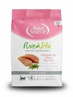 Pure Vita (Tuffy) Pure Vita Cat Dry GF Salmon & Peas, 2.2#