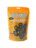 The Real Meat Company Real Meat Treat Dog Jerky Beef, 4oz