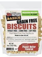 K9 Granola Factory K9 Granola Treats Simply Biscuits, GF Crunchy Peanut Butter, Med 90ct