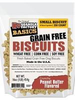 K9 Granola Factory K9 Granola Treats Simply Biscuits, GF Crunchy Peanut Butter, Sm 350ct