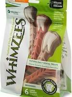 Whimzees Whimzees Brushzees Toothbrush, Large 12.7oz Bag