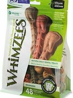 Whimzees Whimzees Brushzees Toothbrush, XSM 12.7oz Bag