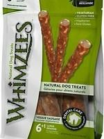 Whimzees Whimzees Veggie Sausage, Large 14.8oz 7/bag