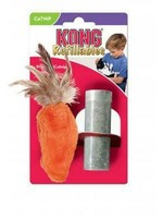 KONG COMPANY LLC Kong Cat Toy Dr Noy's Feather Top Carrot