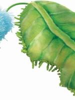 KONG COMPANY LLC Kong Cat Toy Flingaroo Caterpillar