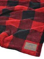 Tall  Tails Tall Tails Blankets Red Plaid Medium