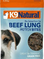 K9 Natural K9 Natural Treat Air Dried Protein Beef Lung Bites 2.1oz