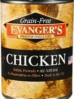 Evanger's Evanger's Dog/Cat Can GF Chicken 12.8oz