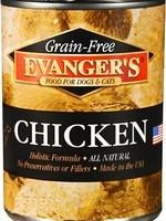 Evanger's Evanger's Dog/Cat Can GF Chicken 12.8oz 12/case