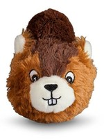 FabDog <p> FabDog Beaver Faball Squeaky Dog Toy is a Durable Rubber TPR Squeaker Ball. Ever catch a beaver by its tail? Us either. But your dog can with this adorable beaver faball: a rugged bouncy TPR ball covered in soft cotton fabric that your dog can chase a