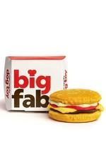 FabDog Fabdog Cheeseburger toy