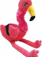 FabDog Is your dog just the best? Then he or she deserves some floppy friends! With this plush flamingo, your puppy will never run out of occasions to play--and you'll get a much needed break from gnawing on your fingers.<br/><br><br/>Specs<br/><br><br/>-   5 Sq