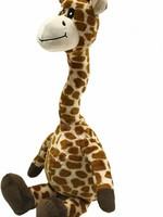 FabDog Fab Dog Floppy Giraffe Squeaky Plush Dog Toy