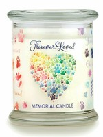 One Fur All/Pet House Pet House Candle Furever Loved Memorial 8.5 oz single