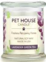 One Fur All/Pet House Pet House Candle Lavender Green Tea