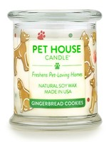 One Fur All/Pet House Pet House Candle Gingerbread Cookies