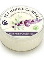One Fur All/Pet House Pet House Candle Lavender Green Tea Mini 1.5 oz single