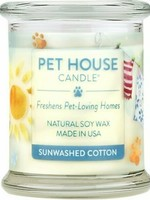 One Fur All/Pet House Pet House Candle Sunwashed Cotton