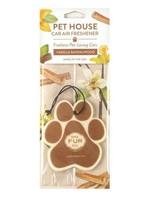 One Fur All/Pet House Pet House Car Freshener Vanilla Sandalwood single