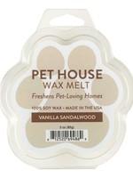 One Fur All/Pet House Pet House Wax Melt Vanilla Sandalwood 3 oz