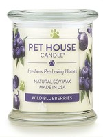 One Fur All/Pet House PET HOUSE CANDLE WILD BLUEBERRY 8.5OZ **SUMMER single