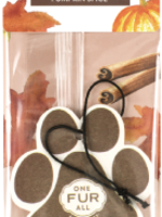 One Fur All/Pet House Pet House Car Freshener Pumpkin Spice single