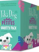 Tiki Dog Aloha Petite Pouch GF Variety 3.5 oz 12/Tray