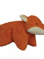 HuggleHounds Dog Toy Knotless Squooshie Fox