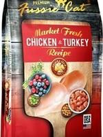 Fussie Cat Fussie Cat Dry GF Market Fresh Chicken & Turkey Formula 2#