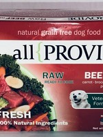 All Provide All Provide Frozen Dog Raw Beef, 2#