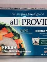 All Provide All Provide Dog Frozen Raw Chicken 2#