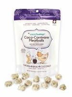 CocoTherapy Coco Therapy Coco-Carnivore Meatballs Chicken, Basil & Coconut 2.5 oz