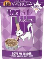 Weruva Cat CITK Pouch GF Love Me Tender - Chicken & Duck 3 oz single
