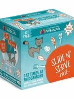 Weruva Cat Wet CITK SnS Pate GF Duck & Tuna Cat Times at the Fridgemont 3 oz 12/Tray
