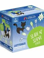 Weruva Cat Wet CITK SnS Pate GF Chicken & Salmon Cattyshack 3 oz 12/Tray