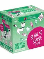 Weruva Cat Wet CITK SnS Pate GF Chicken & Lamb Meowiss Bueller 3 oz 12/Tray