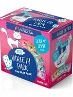 Weruva Cat Wet CITK SnS Pate GF Variety Pack The Brat Pack 3 oz 12/Tray