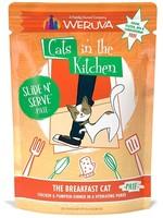 Weruva Cat Wet CITK SnS Pate GF Chicken & Pumpkin Breakfast Cat 3 oz single