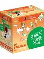 Weruva Cat Wet CITK SnS Pate GF Chicken & Pumpkin Breakfast Cat 3 oz 12/Tray
