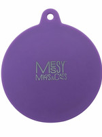 Messy Mutts Messy Mutts Can Covers Silicone Universal Purple
