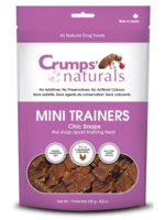 CRUMPS' NATURALS Crumps Dog Treat FD Mini Trainer Chicken Snaps 4.2 oz