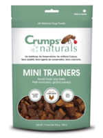 CRUMPS' NATURALS Crumps Dog Treat FD Mini Trainer Chicken Semi Moist 4.2 oz