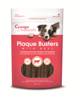 """CRUMPS' NATURALS Crumps Dog Plaque Busters with Beef 7"""" single"""