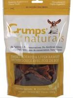 CRUMPS' NATURALS Crumps Dog Treat FD Sweet Potato & Liver Chews 5.6 oz