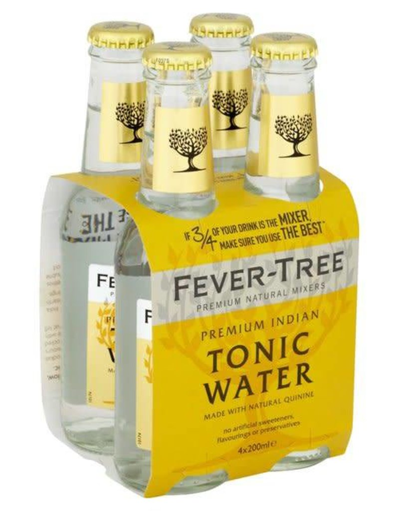 Fever Tree Fever Tree Indian Tonic Water  4 pack 200 ml