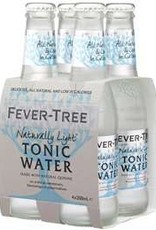 Fever Tree Fever Tree Natural Light Tonic Water  4 pack 200 ml