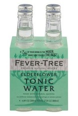 Fever Tree Fever Tree Elderflower Tonic Water  4 pack 200 ml