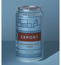 Fort Point Fort Point Beer Co. Export Dortmunder Lager  6 pack 12 oz