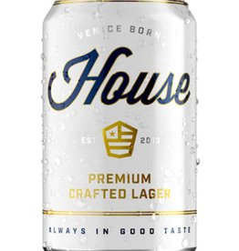 House House Beer Cans  6 pack 12 oz