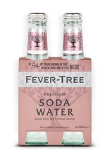 Fever Tree Fever Tree Club Soda  4 pack 200 ml